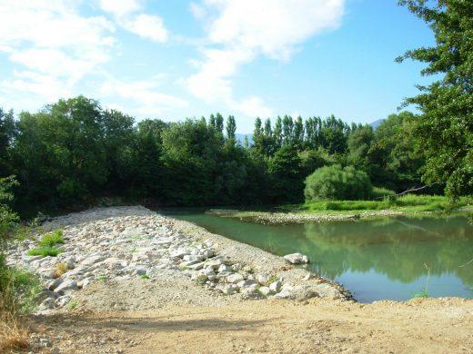 Resclosa (barrage) du canal d'Elne, à Ortaffa